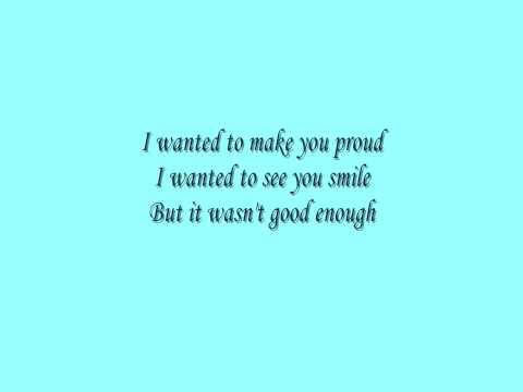 Lifehouse - I want you to know  (with lyrics)