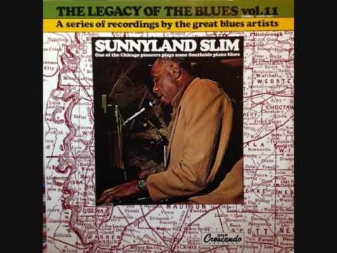 SUNNYLAND SLIM - I Had It Hard