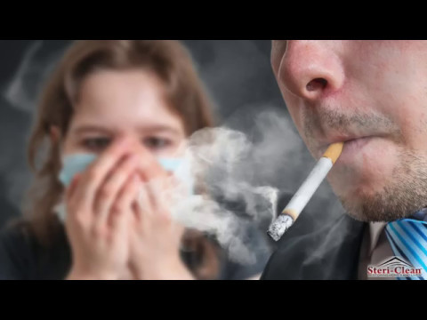 Steri Clean Cigarette Smoke Odor Removal Commercial - YouTube