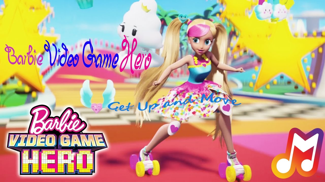 Barbie Video Game Hero - Get Up and Move Lyrics