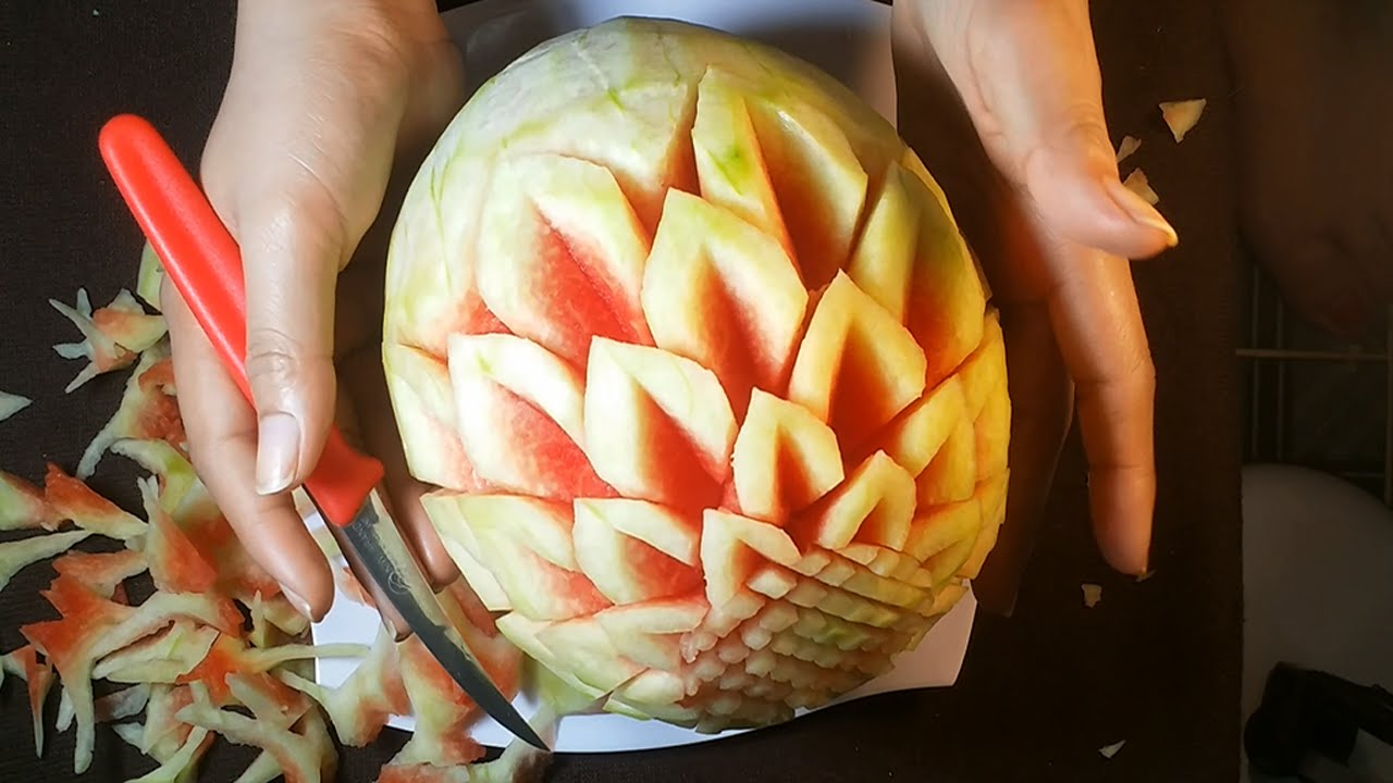 Art of watermelon carving for beginners fruit