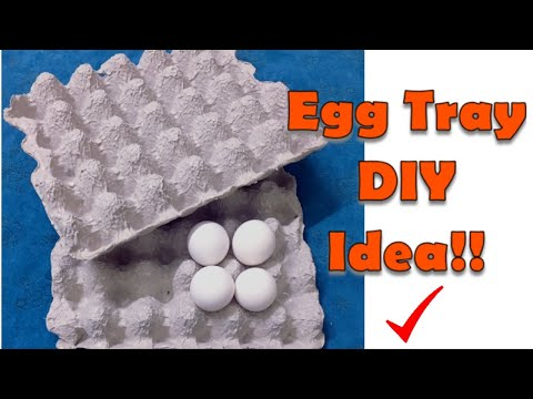Easy Wind chime using Egg tray | DIY | Best out of waste | SvS Arts