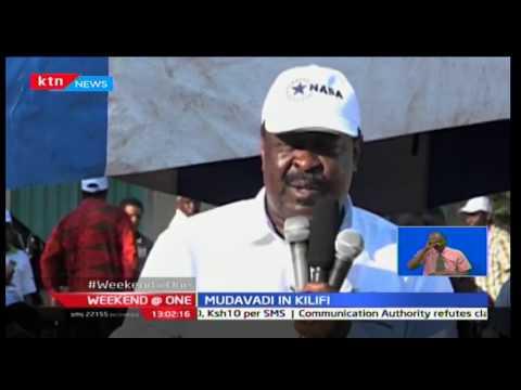 ANC leader Musalia Mudavadi says Jubilee policies are derailing Kenya's economy
