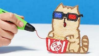 КОТЫ ВКОНТАКТЕ РИСУЮ 3D РУЧКОЙ | 3D PEN CATS VK DIY(КОТЫ ВКОНТАКТЕ РИСУЮ 3D РУЧКОЙ | 3D PEN CATS VK DIY 3D Ручка ..., 2017-03-06T17:53:52.000Z)