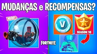 FORTNITE-NERFADA HAMSTER BALL, V-BUCKS and BATTLE PASS 10?