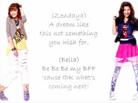 Zendaya & Bella Something To Dance For  TTYLXOX lyrics