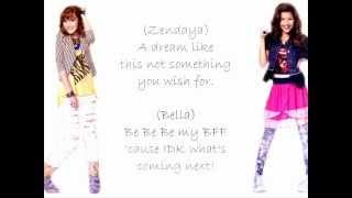 Zendaya & Bella Something To Dance For / TTYLXOX lyrics