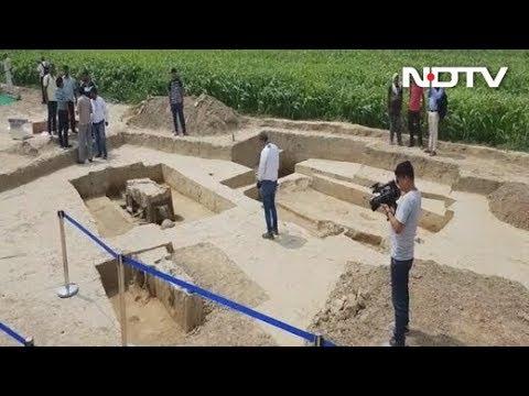 बागपत के सोनौली में 5000 साल पुरानी कब्रगाह मिली