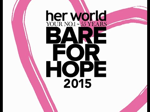SPH Magazines' Her World event - Bare For Hope