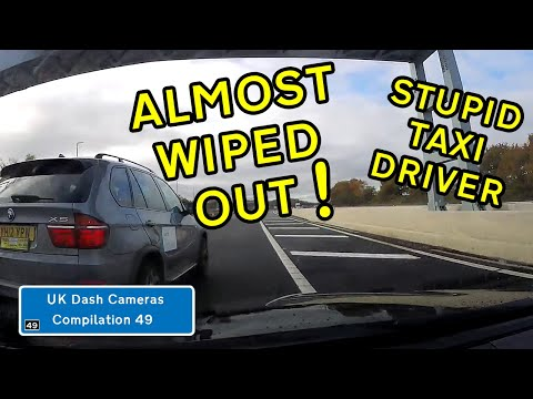 UK Dash Cameras - Compilation 49 - 2019 Bad Drivers, Crashes + Close Calls