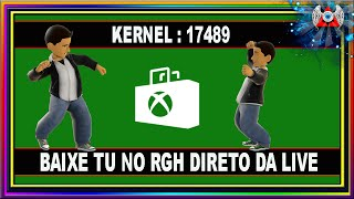 [360] • Como Baixar no Xbox RGH TU de jogo direto da Live - Kernel : 17489
