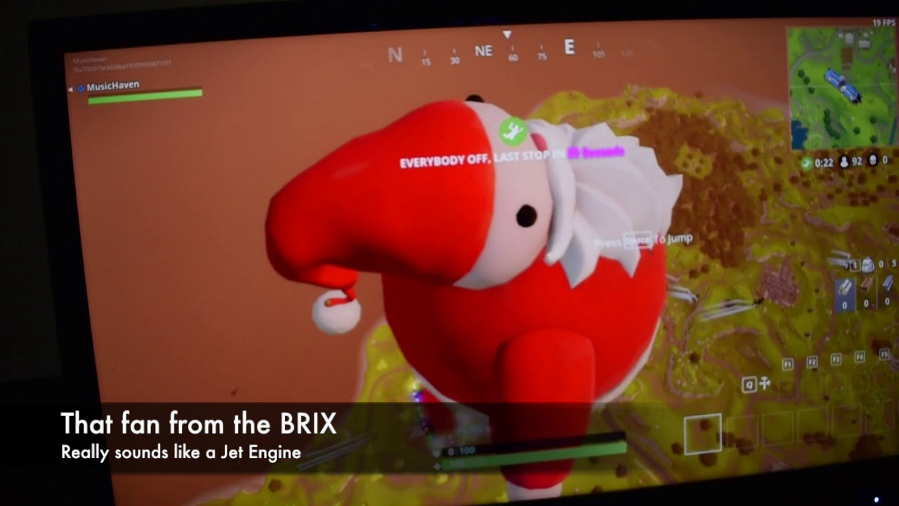Fortnite on the Gigabyte BRIX (A8-5557M, 10GB RAM, R9 M275X), 720p and  1080p gameplay benchmark