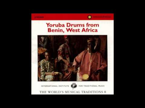 Yoruba Drums From Benin (1996,  Smithsonian Folkways) - Part 1/2
