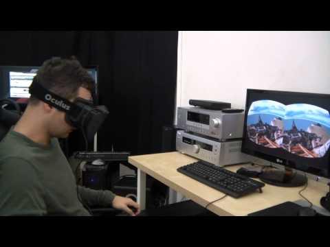 Oculus Rift Prohardver / IT café próba