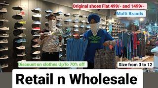 EXPORT SURPLUS WAREHOUSE || 100% Original || T-Shirt 399/- || Shoes flat 499/- || Retail n Wholesale