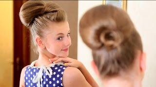 Прическа Бабетта - [Simple Beauty - все о красоте]