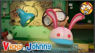Vicky & Johnny | Episode 40 | JOHNNY'S INVENTION | Full Episode for Kids | 2 MIN