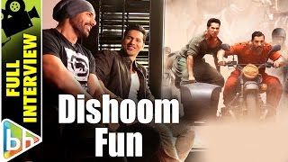 Varun Dhawan | John Abraham | Dishoom | Full Interview | Rapid Fire