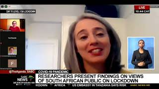 COVID-19 Pandemic | Researchers present findings on views of South African public on lockdown