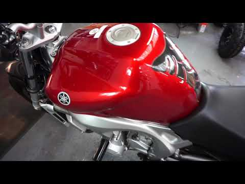 MOTORBIKES 4 ALL REVIEW YAMAHA fz6 red LOW MILES FOR SALE £2690