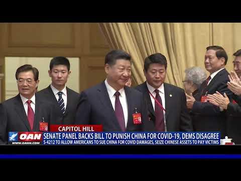 Senate panel backs bill to punish China for COVID-19