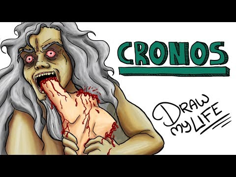LA TERRIBLE Hª DEL TITÁN CRONOS | Draw My Life