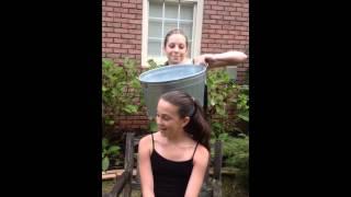 Mia Berry's Ice Bucket Challenge