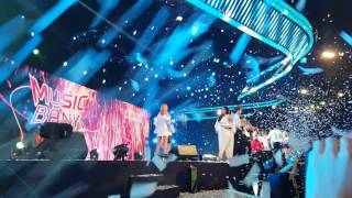170804 All Artists - Run to You (Ending Stage) @ Music Bank in Singapore