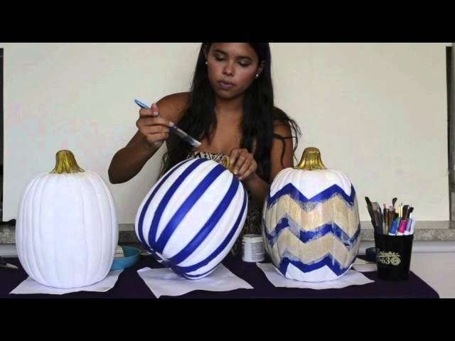 Decorative Pumpkin Diy Fall Decor Youtube