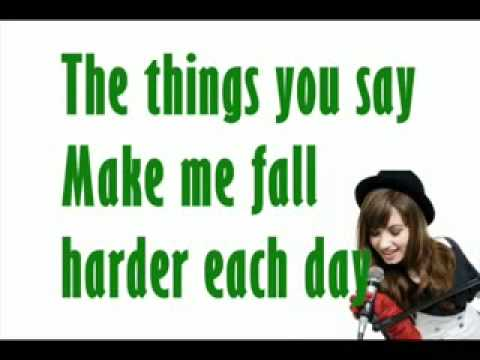 Demi Lovato-Trainwreck[Lyrics on screen HQ]