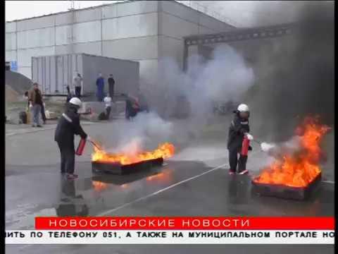 Пожар потушили на скорость сотрудники новосибирской подземки