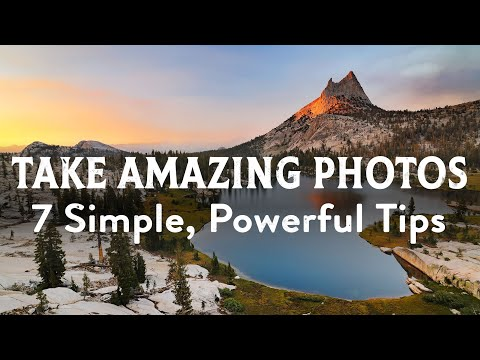 7 Powerful Photography Tips for Amazing Photos