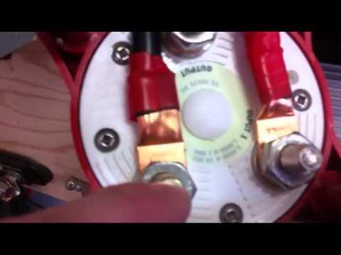 blue sea add a battery wiring diagram led lighting transfer video response youtube