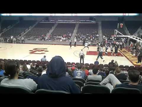 LA Clippers Open Practice scrimmage at USC's Galen Center, 10/10/17 (part 2/3)
