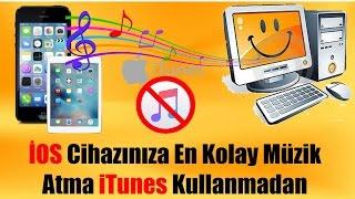 Iphone kolay müzik atma