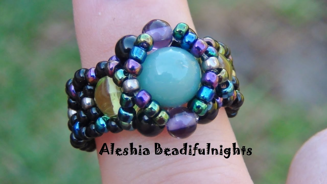Hugs and kisses beaded ring tutorial youtube hugs and kisses beaded ring tutorial baditri Choice Image