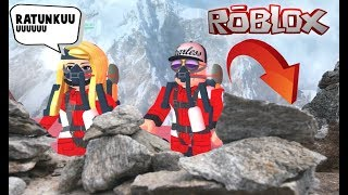 THAT'S THE END............................ I FELL from the HIGHEST MOUNTAIN-ROBLOX (Mount Everest Roleplay)