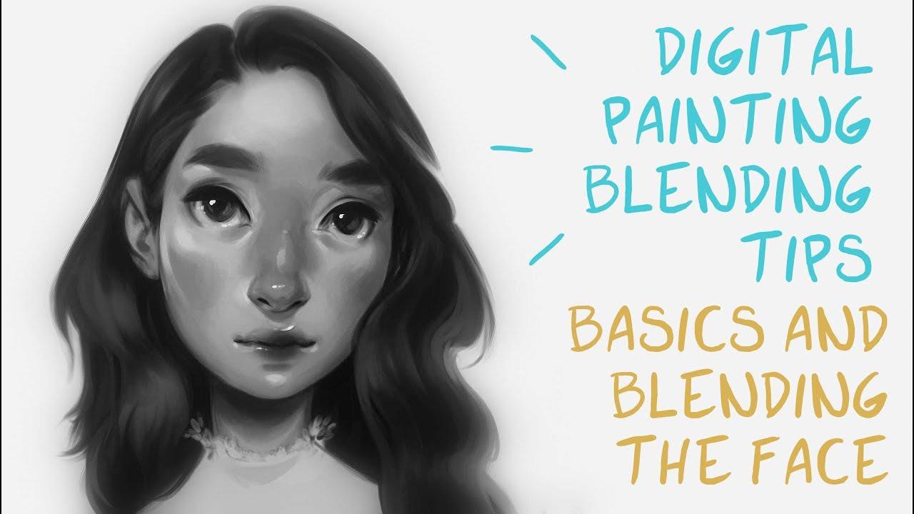 Digital Art Drawing Hair For Beginners