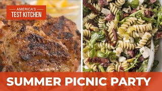 How to Make the Ultimate Grilled Chicken Thighs and Italian Pasta Salad