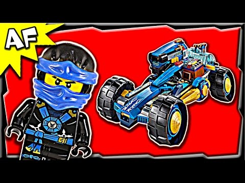 Lego Ninjago JAY WALKER ONE 70731 Ghost Army Stop Motion Build Review