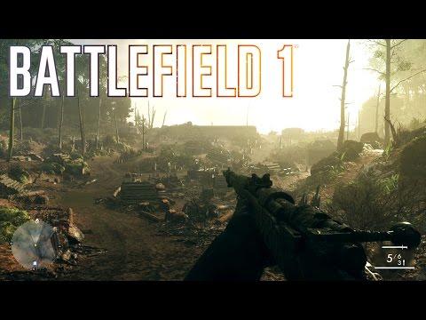 BATTLEFIELD 1: #02 -  Cenários épicos de Guerra (Xbox One S - Gameplay Português)