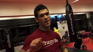 Vaughan Lee Final Prep at Triquest MMA for UFC Macao 2014