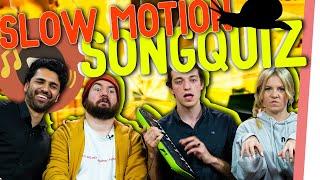 SLOWMOTION Songquiz – DAVIS SCHULZ und ALEXEY verzweifelt!