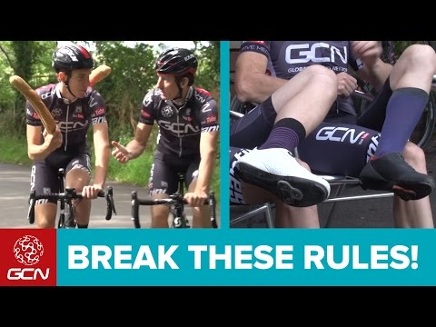 Top 10 Cycling Rules To Break!