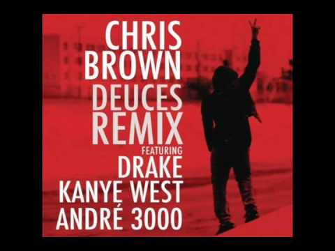 UNCENSORED Chris Brown  Deuces Remix ft Drake, Kanye West, TI, Fabolous & Andre 3000  Link