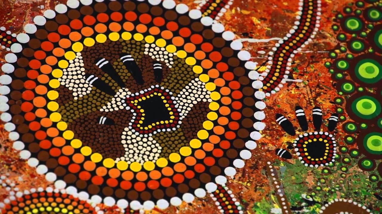 Glitter Animal Print Wallpaper What Do Hands Represent In Aboriginal Art Youtube