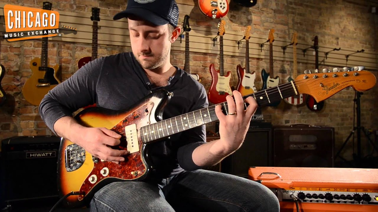 Image Is Loading 1965 Fender Jazzmaster Candy Le Red Finish With