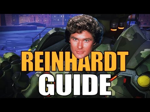 "Overwatch ""REINHARDT"" Guide Tutorial Deutsch [Reinhardt Tipps Tricks German]"