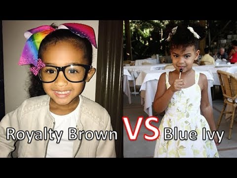 Download Youtube: Who's Richer Royalty Brown  Or Blue Ivy Carter 2017 [Royalty Brown & Blue Ivy Net Worth ]