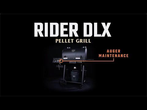 Rider Pellet Grills - Auger Maintenance | Oklahoma Joe's®